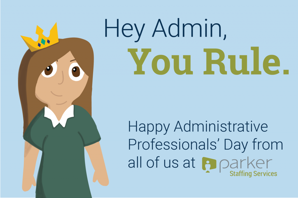 Celebrating Administrative Professionals' Day 2017 with One of the ...